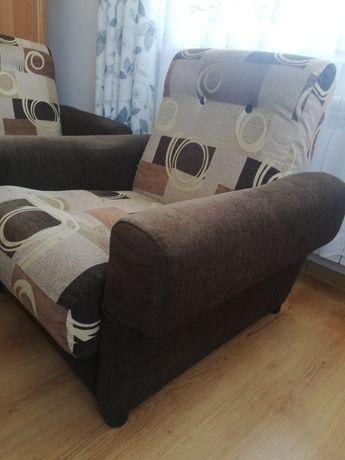 2 fotele w stylu PRL wygodne
