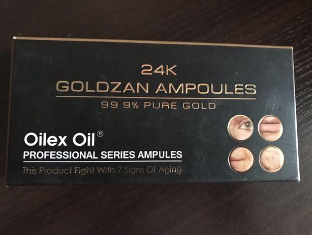 GOLDZAN 24 K сыровотка коллаген с золотом Oilex Oil