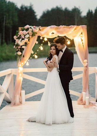 Drewniana rama ramka na zdjęcia ślub wesele