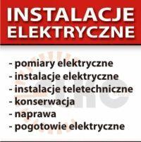 ELEKTRYK. Usługi elektryczne i instalacyjne. W domach i mieszkaniach.