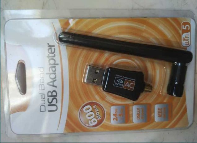 Usb dualband wifi-5 adapter