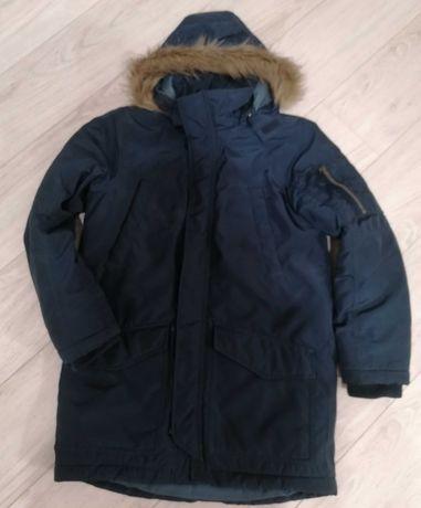 Zimowa kurtka dla chłopca H&M 9/10lat