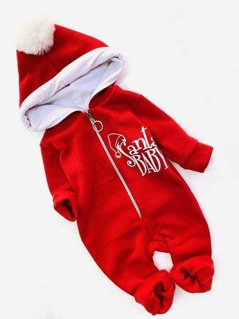 Ромпер Santa Baby