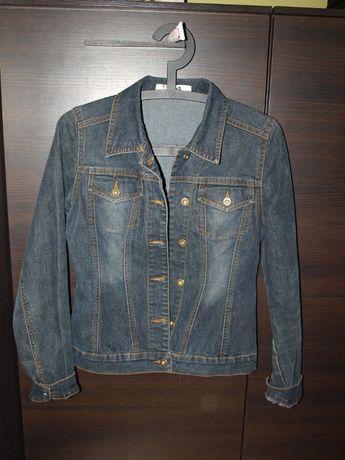 jeansowa kurtka xs
