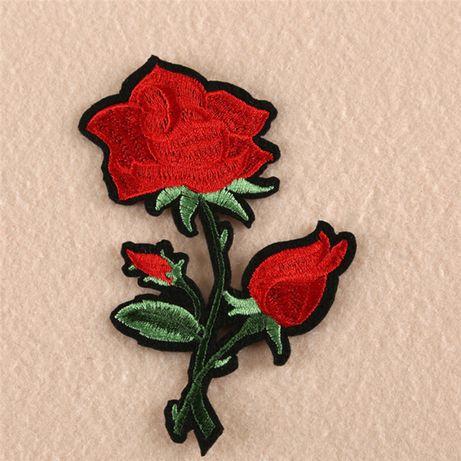 Aplikacja róże prasowanka