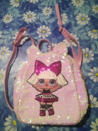 Рюкзак детский LOL ( кукла ЛОЛ )