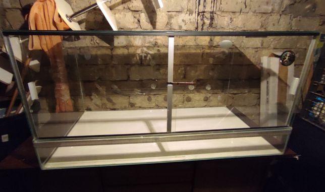 Terrarium szklane 120x60x60