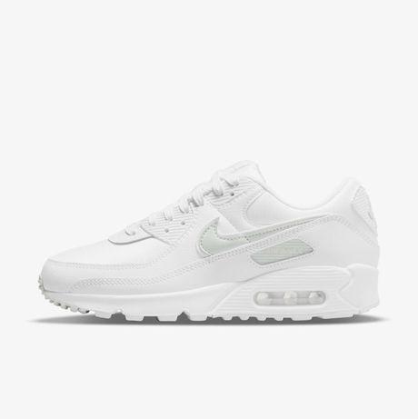 Женские кроссовки Nike Air Max 90 (DH5720-100) jordan 1 niteball