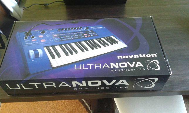 Novation Ultranova (Sintetizador de modelagem analógica) (Como Novo)