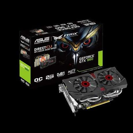 ASUS GeForce GTX 960 2GB GDDR5 OCd Strix