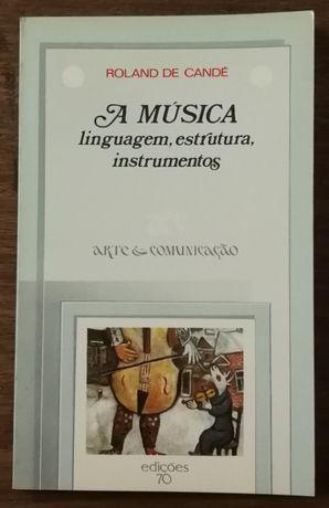 a música, roland de candé, edições 70