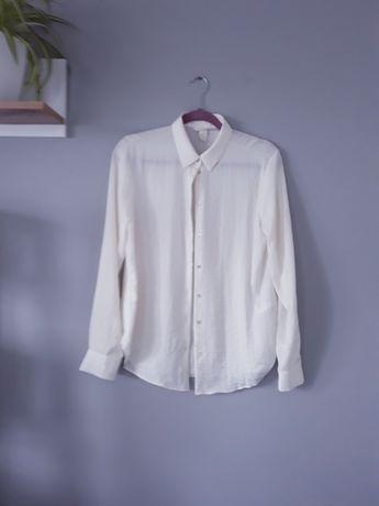 Nowa koszula damska ecru H&M rozm. 38 M