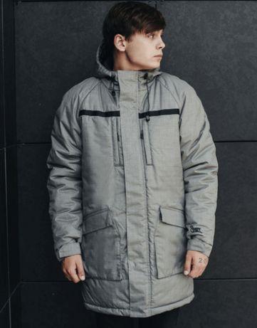 Мужская зимняя куртка Staff hope gray