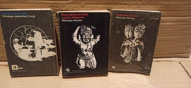 Mitologia starożytnej Grecji Indyjska i Słowian zestaw 3 książki