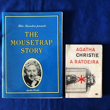 Agatha Christie A RATOEIRA com oferta de brochura comemorativa