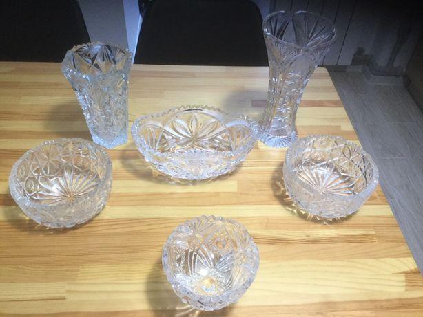 Хрустальные салатницы и вазы