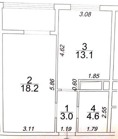 Продам 1 комнатную квартиру в 47 Жемчужине