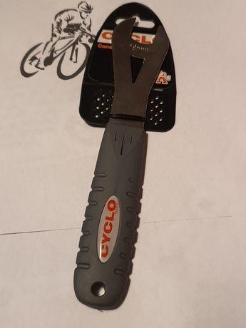 Klucz Cyclo Cone Spanner z gumową rączką 18mm