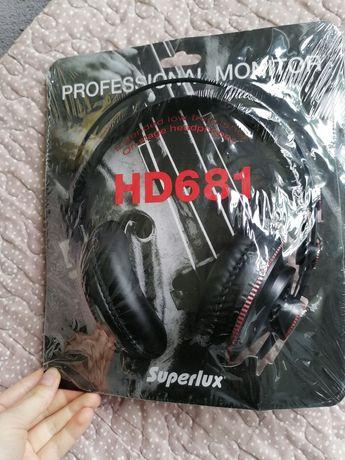 Słuchawki nowe Super lux hd681