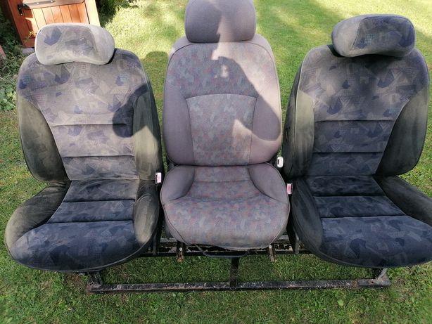 Fotele Bus, siedzenia, 3 rząd siedzeń, kanapa