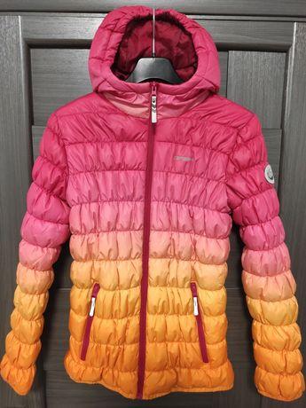 Детская  Зимняя Куртка на девочку Icepeak на рост 164 см размер М 14 л