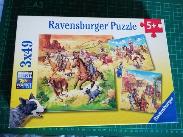 Puzzle westernowe 5+