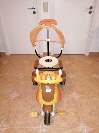 Triciclo passeio com apoio e suporte