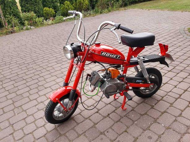 motorynka romet  zarejestrowana 1985