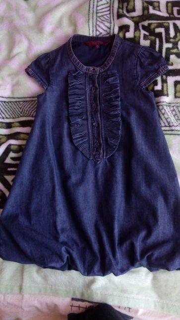 Стильный джинсовый сарафан, платье бренда Ted Baker