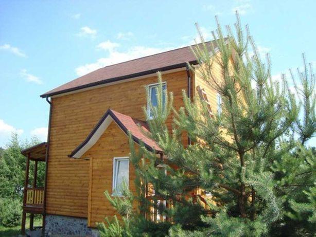 Дом 180 кв с.Николаевка, лес ,озеро, участок 8 сот ,мебель, техника!