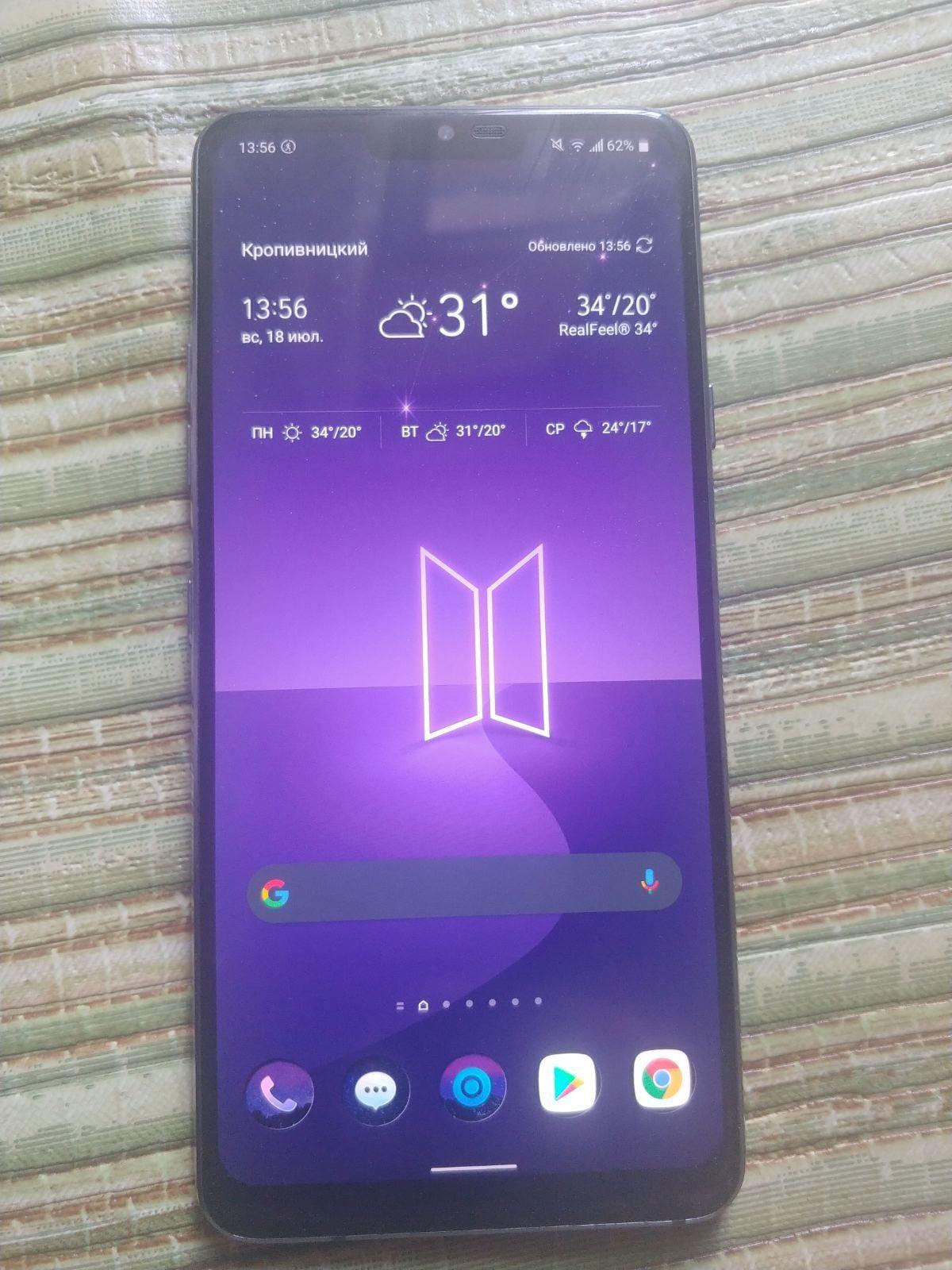 LG g7 thinq 4/64 xiaomi не предлагать