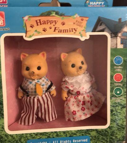 Набор флоксовых животных Sylvanian Families, Happy Family