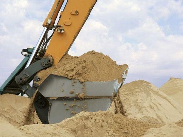 Песок речной, карьерный, доставка.