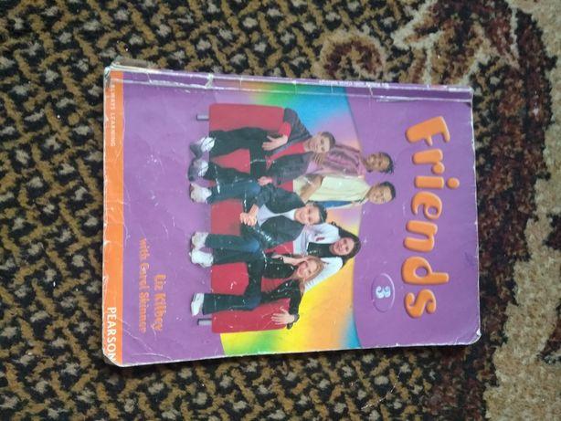 Книжка для вивчення англійської Friends 3