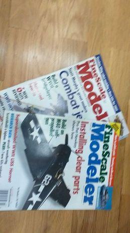Lote de 2 revistas Fine Scale Modeller revista de modelismo