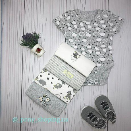 Одежда,бодики,человечки для новорождённых малышей