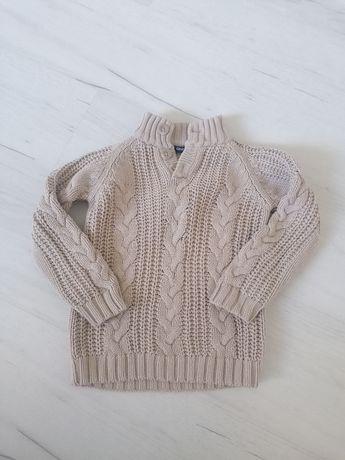 Sweter kremowy ciepły