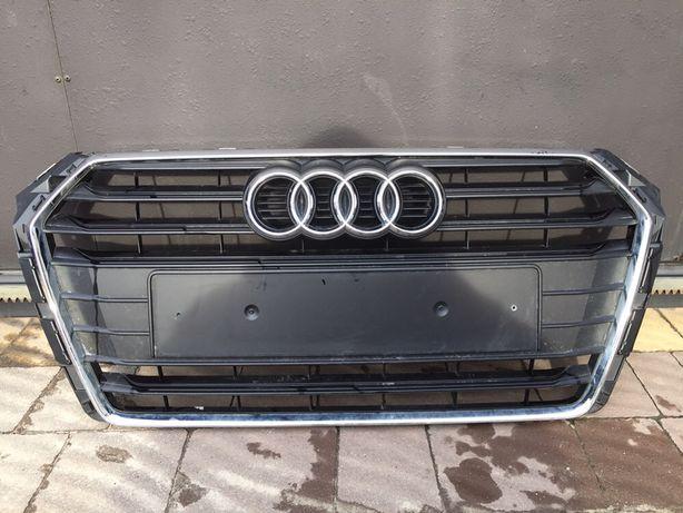 Центральна решітка Audi A4 B9(Ауді,Ауди,А4 Б9,Центральная решетка)