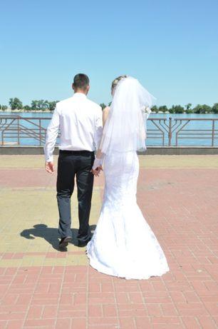 Срочно!!!Свадебное платье 42-44 р.