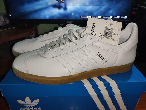 Adidas Original Gazelle Indoor White 45 eur, 29 cm ОРИГІНАЛ