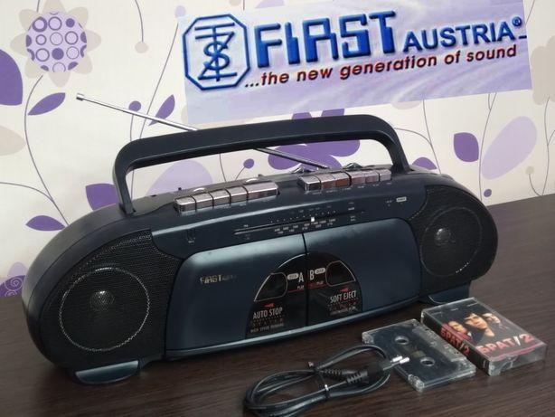 Обслужен FIRST Austria 193 магнитола магнитофон радио +видео