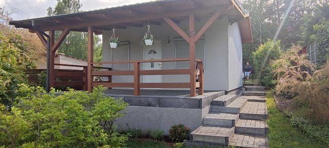 Działka ROD Śrem z nowym domkiem, łazienka + ciepła woda