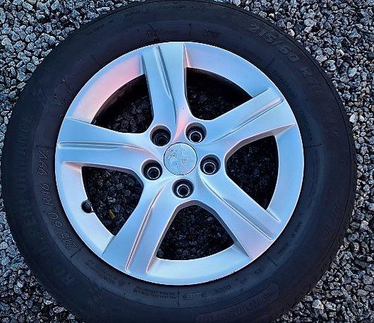 Jantes Peugeot 5*108 c/pneus