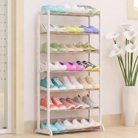 Полка для обуви на 30 пар Amazing Shoe Rack, складной стеллаж для обув
