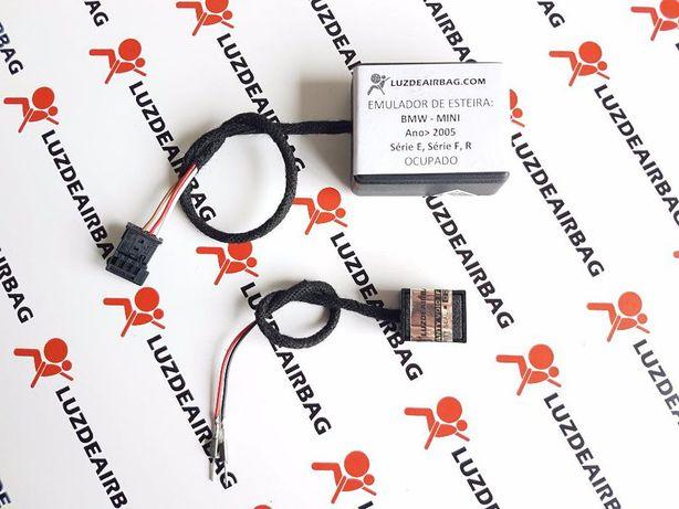 BMW E60 E90 E80 F10 Emulador Esteira banco Apaga Luz Airbag - Encaixar