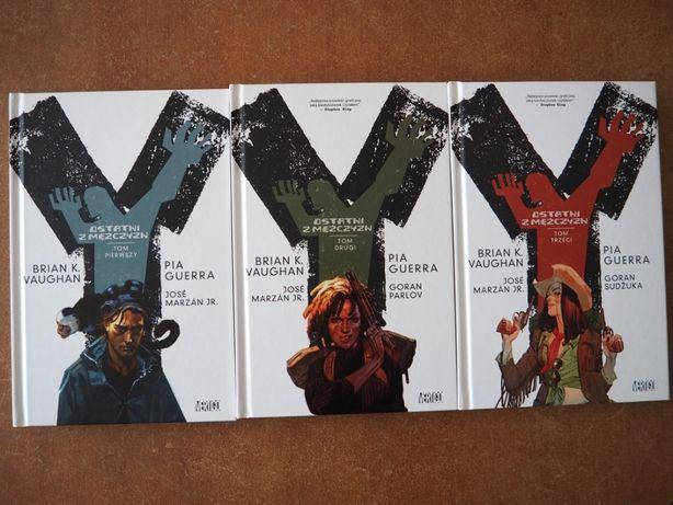 Ygrek: Ostatni z mężczyzn - albumy zbiorcze 1-3