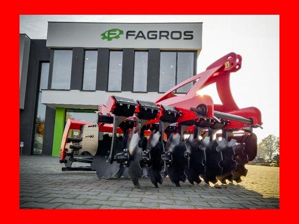 *FAGROS* Nowa brona TALERZOWA agregat talerzówka 1,6 - 4,0 m metanga