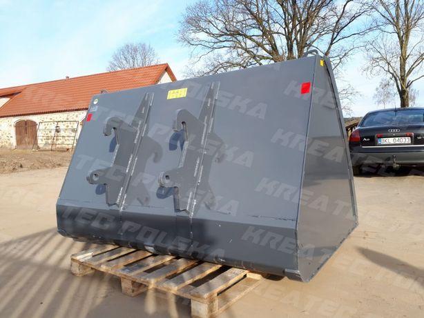 Szufla, łyżka do ładowarki 2,0 m, poj. 1,4 m3, dowolne mocowanie