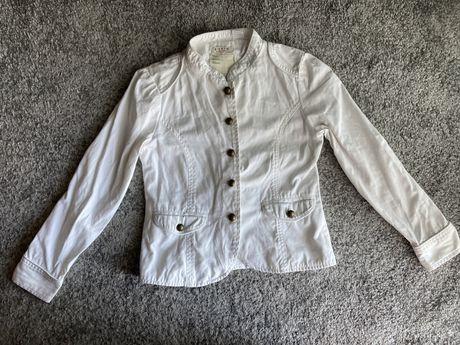 Casaco branco de menina