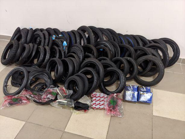 Покрышки (шини резина) для детской коляски, велосипедов и гироскутуров
